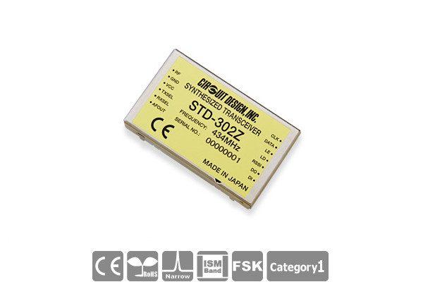 Low-Power Funkmodul STD-302Z von Circuit Design