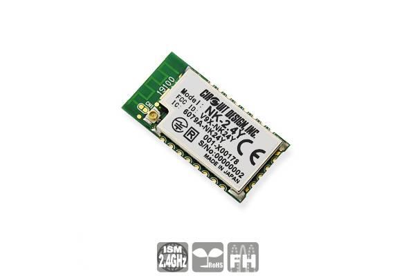 Low-Power Funkmodul NK-2.4Y von Circuit Design