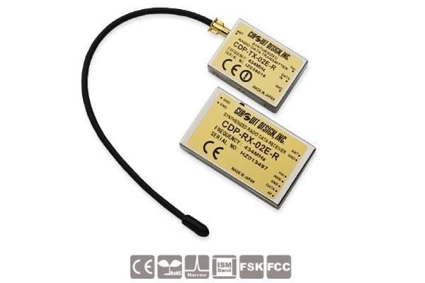 Low-Power Funkmodule CDP-TX-03E(P)-R und CDP-RX-03E(P)-R von Circuit Design
