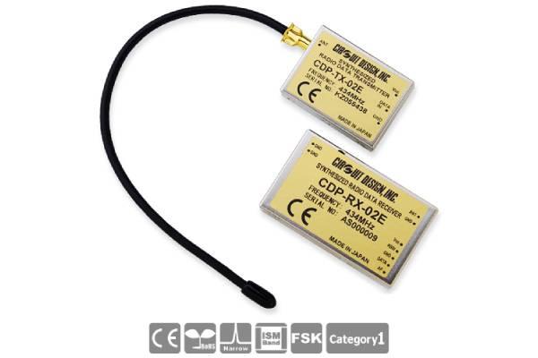 Low-Power Funkmodule CDP-TX-03E(P) und CDP-RX-03E(P) von Circuit Design