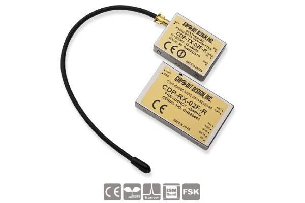 Low-Power Funkmodule CDP-TX-03F(P)-R und CDP-RX-03F(P)-R von Circuit Design