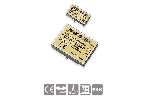 Low-Power Funkmodule CDP-TX-05M(P)-R und CDP-RX-05M-R von Circuit Design