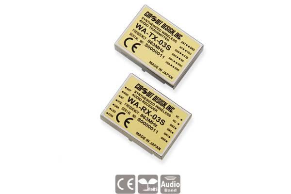 Low-Power Funkmodule WA-TX-03S und WA-RX-03S von Circuit Design